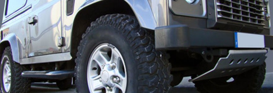 Choisir ses pneus 4x4