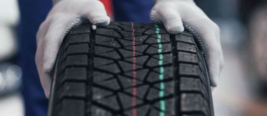 les pneus de voitures